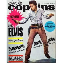 Magazine vintage de naissance de l'année 1963 ELVIS Salut Les Copains