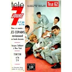Magazine Vintage de Naissance Télé 7 jours d'époque anniversaire 60 ans