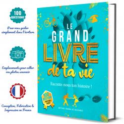 le grand livre de ta vie : une idée cadeau originale