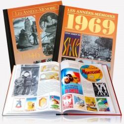 Livre rétrospectif de l'année de naissance 1951, livre anniversaire 70 ans Livre Les Années Mémoire 1951