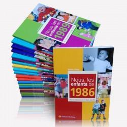 Livre rétrospectif de naissance de n'allée 1991, Livre anniversaire 30 ans